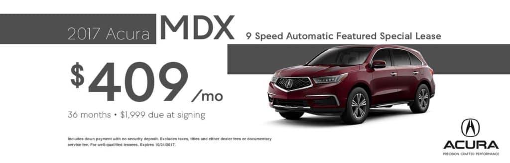 RA MDX Offer