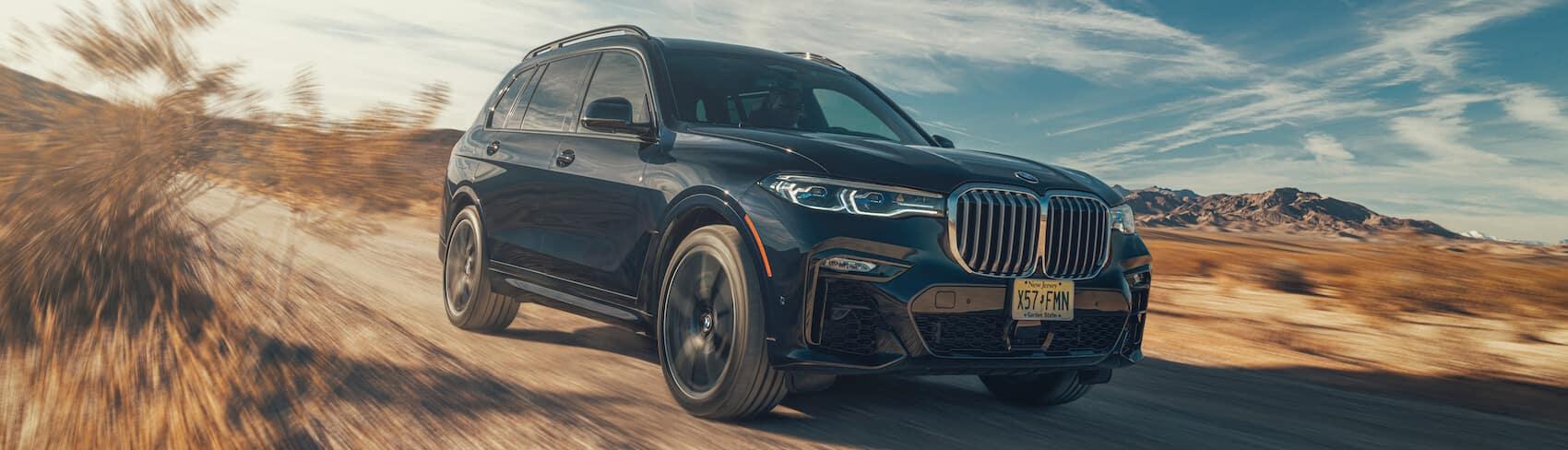BMW X7 vs Mercedes-Benz GLE comparison Pensacola, FL
