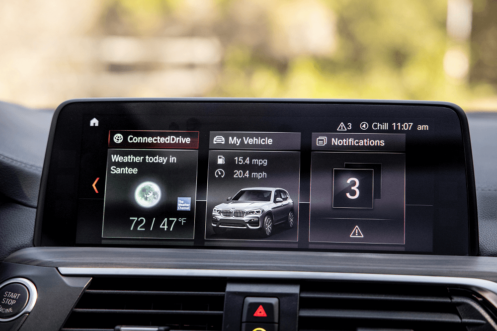 BMW X3 Technology Features