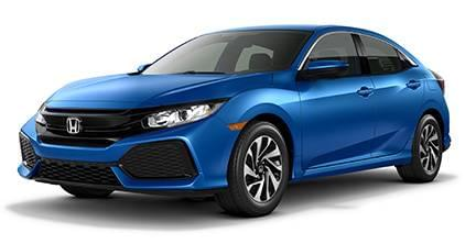 2017 Civic LX Hatchback CVT