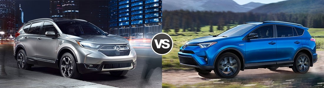 2017 CR-V vs 2017 RAV4