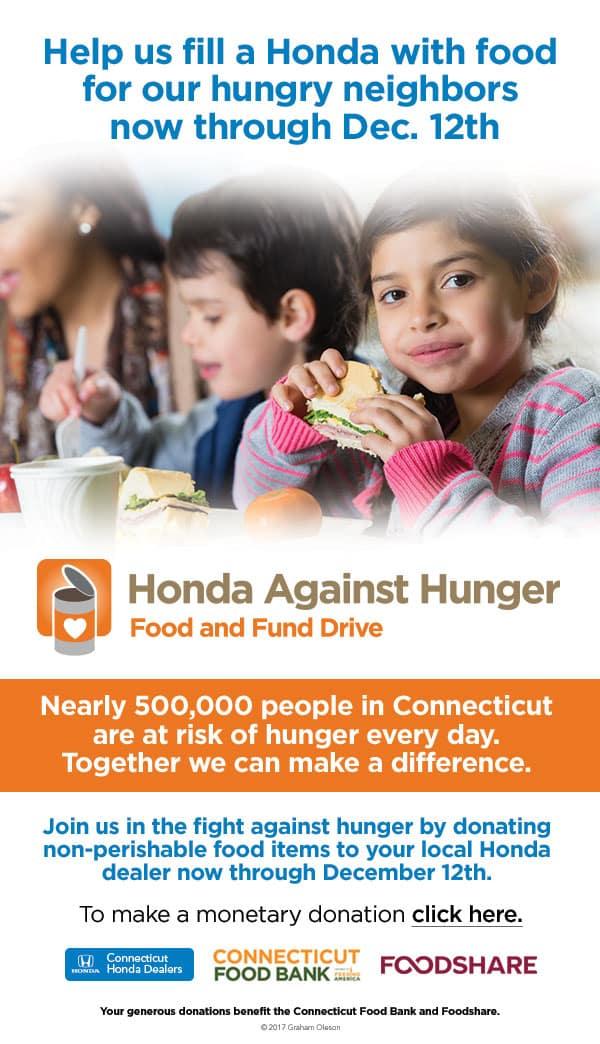 Schaller Honda Against Hunger