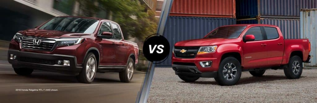 2018 Honda Ridgeline Vs 2018 Chevy Colorado For Hartford Honda Drivers