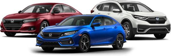 2021 Honda Civic Accord CR-V
