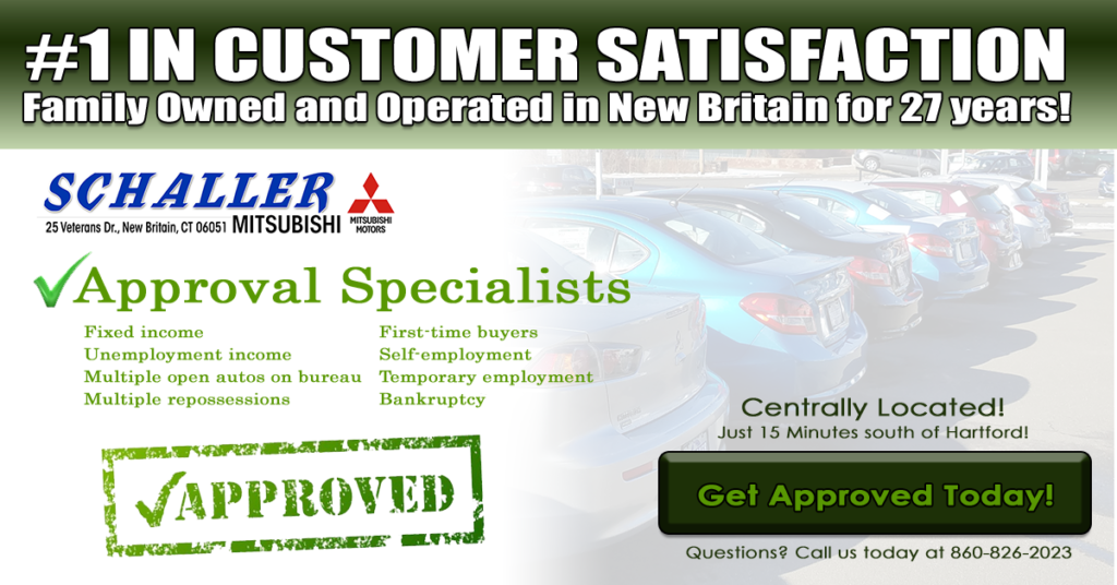 bad credit approval in new britain and newington schaller mitsubishi