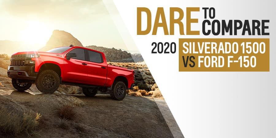 2020 Chevrolet Silverado 1500 vs. 2020 Ford F-150 - Sherman Chevrolet in Sherman, Texas