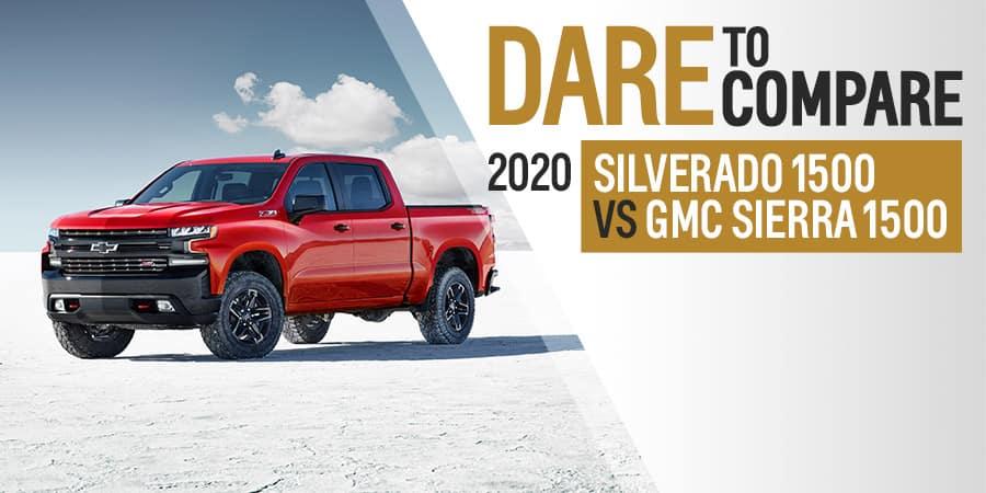 2020 Chevrolet Silverado 1500 vs. 2020 GMC Sierra 1500 - Sherman Chevrolet in Sherman, Texas