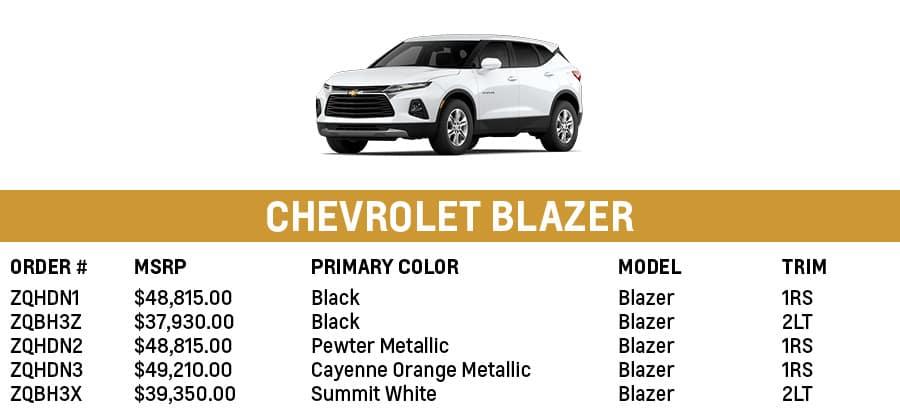 Chevrolet Blazer | Sherman, TX