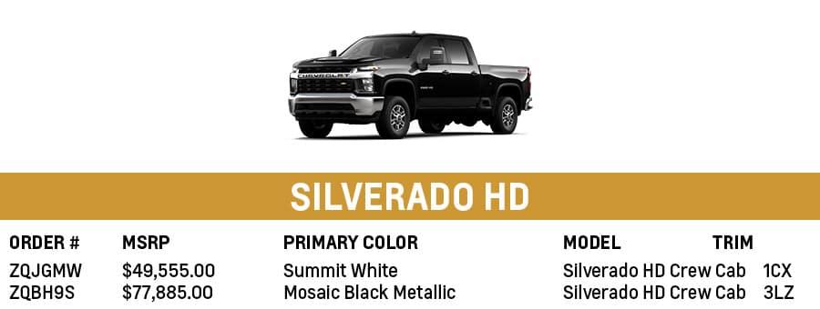Chevrolet Silverado HD | Sherman, TX