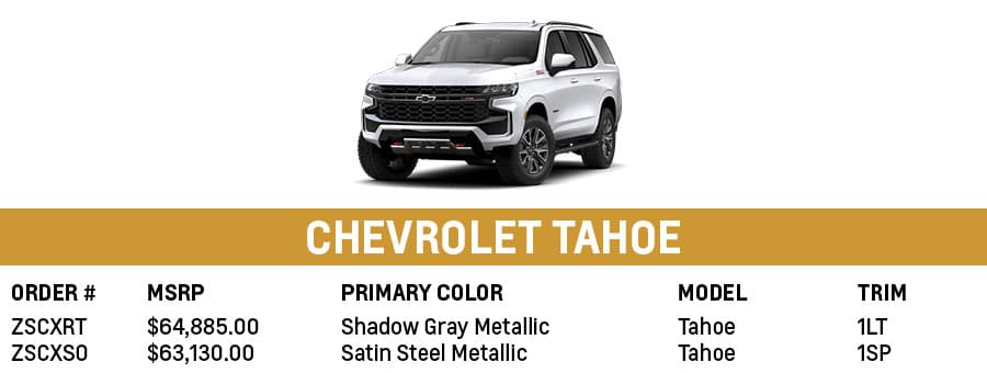 Chevrolet Tahoe | Sherman, TX