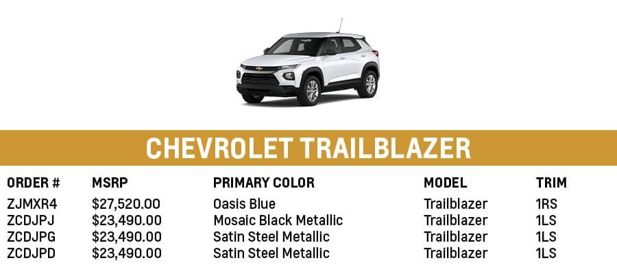 Chevrolet Trailblazer | Sherman, TX