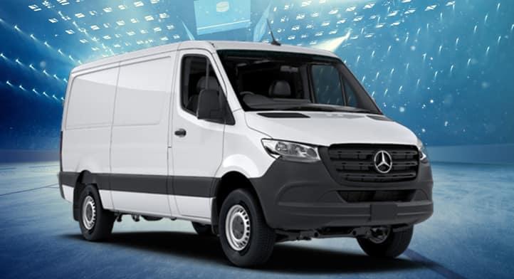 2019 Sprinter 144'' Low Roof Cargo Van, Total Price $49,609