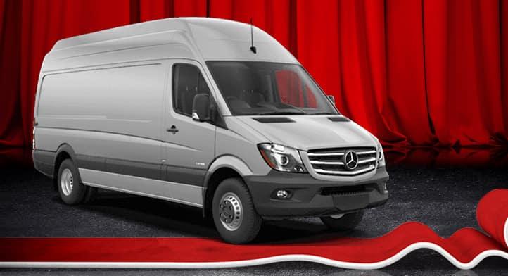 2017 Sprinter 2500 V6 144'' Cargo Van, Total Price $45,550