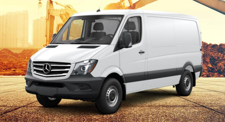 2018 Sprinter 2500 V6 144'' Cargo Van, Total Price $45,500