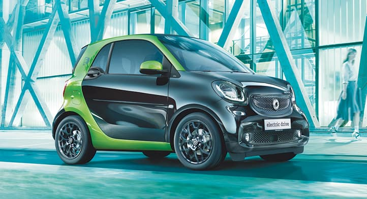 2018 smart fortwo electric drive coupe, Total Price $25,975