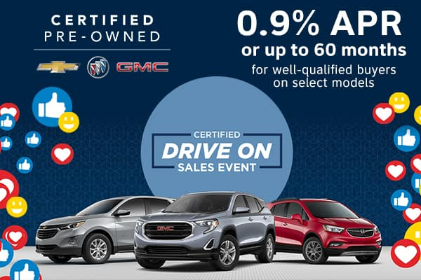 GM Certified Pre-Owned Sales Event