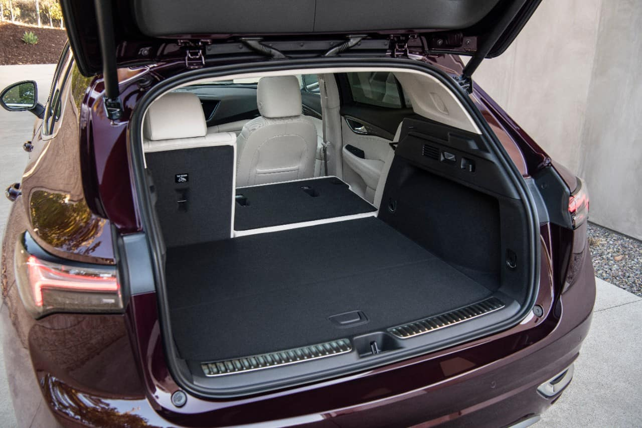 2021 Bick Envision Cargo Space