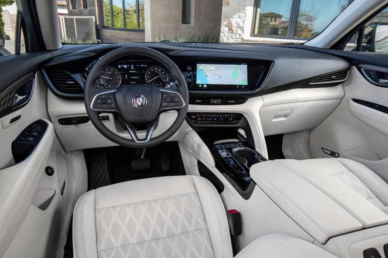 The 2021 Buick Envision Interior