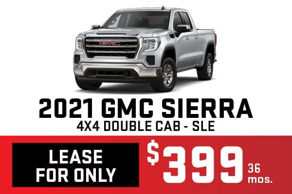 2021 GMC SIERRA 4X4 DOUBLE CAB SLE