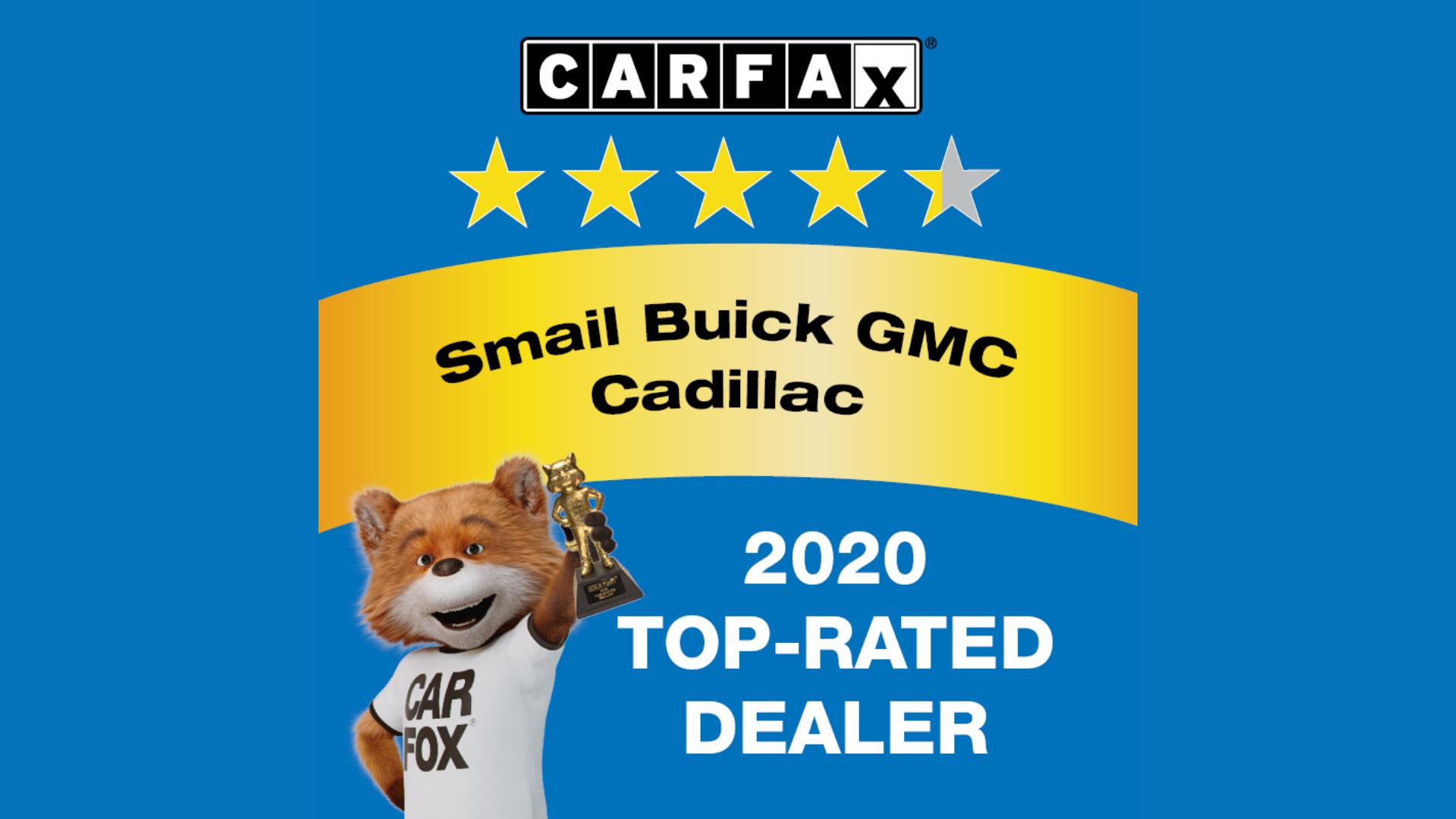 Buick GMC Top-Rated Dealer Award