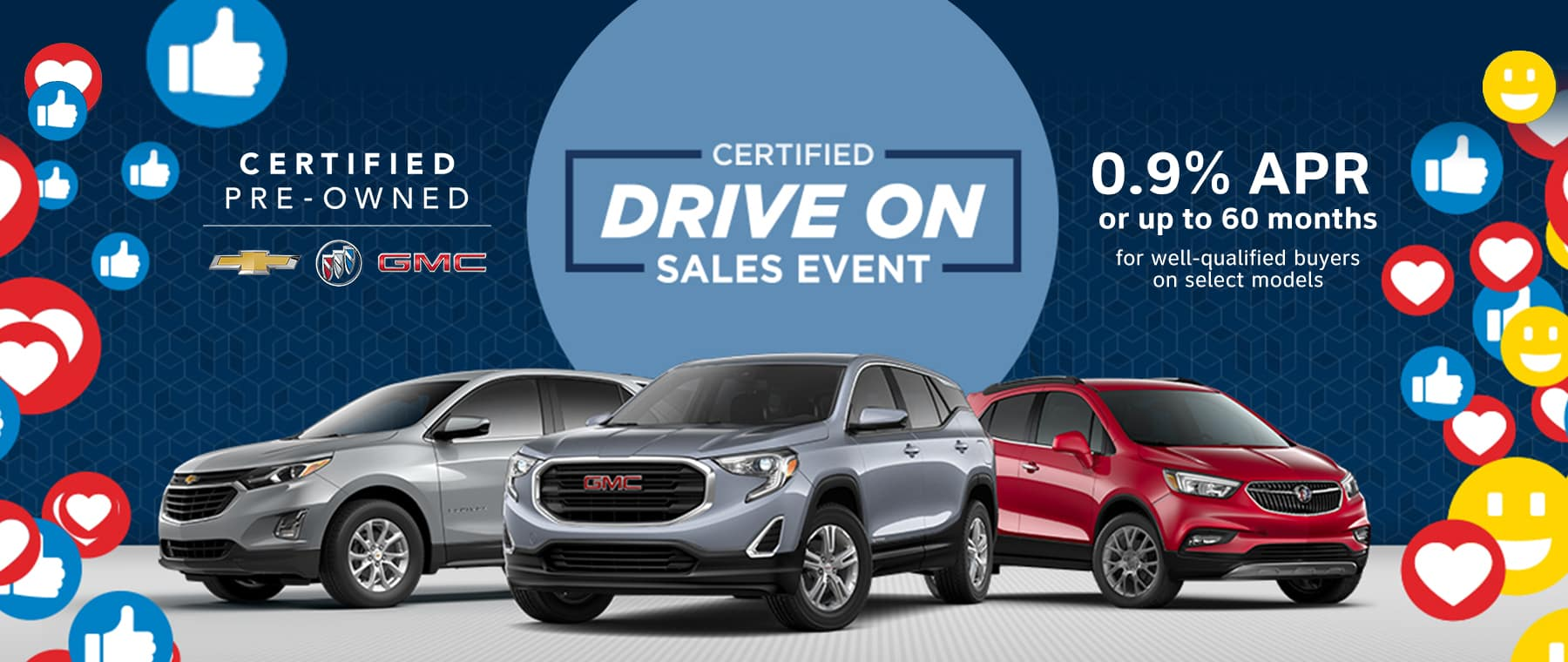 BUICK GMC CPO DRIVE ON SALES EVENT