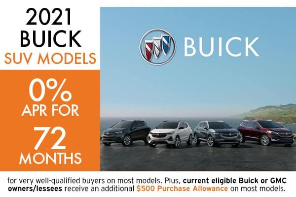 2021 BUICK SUVS