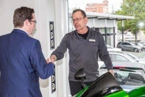 Dale Smith Celebrates 40 years with Three Point Motors