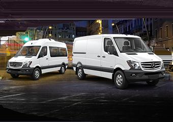 Mercedes-Benz Sprinter Cargo and Passenger Van