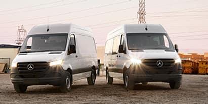 2019 Sprinter Gas Cargo & Crew Vans