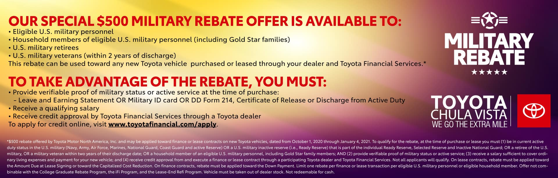 TCV_1920x614_Offers_Aug2_Military Rebate