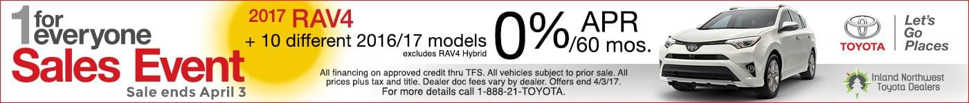 0% Toyota Rav4
