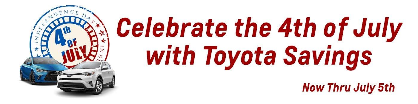 Toyota Specials RAV4 Camry
