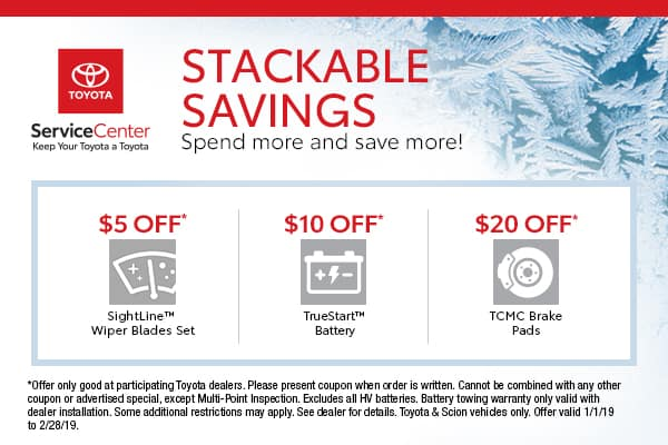 Toyota Stackable Savings