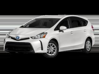 2017 Toyota Prius V in White