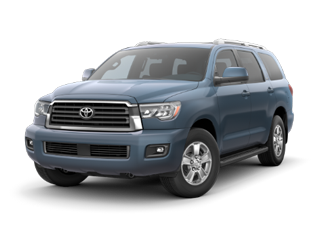2018 Toyota Sequoia in Blue