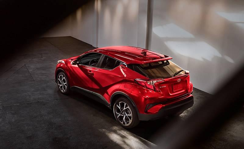 2018 Toyota C-HR XLE Ruby Flare Pearl