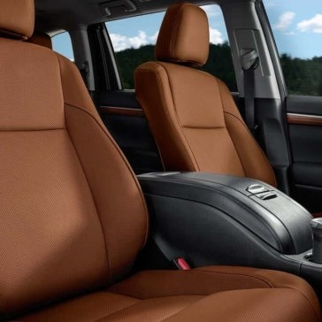 Toyota Highlander Limited Saddle Tan Interior