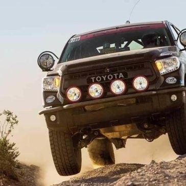 2017 Toyota Tundra off roading