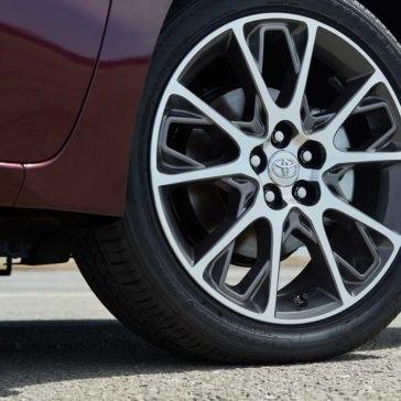 2017 Toyota Corolla Tire