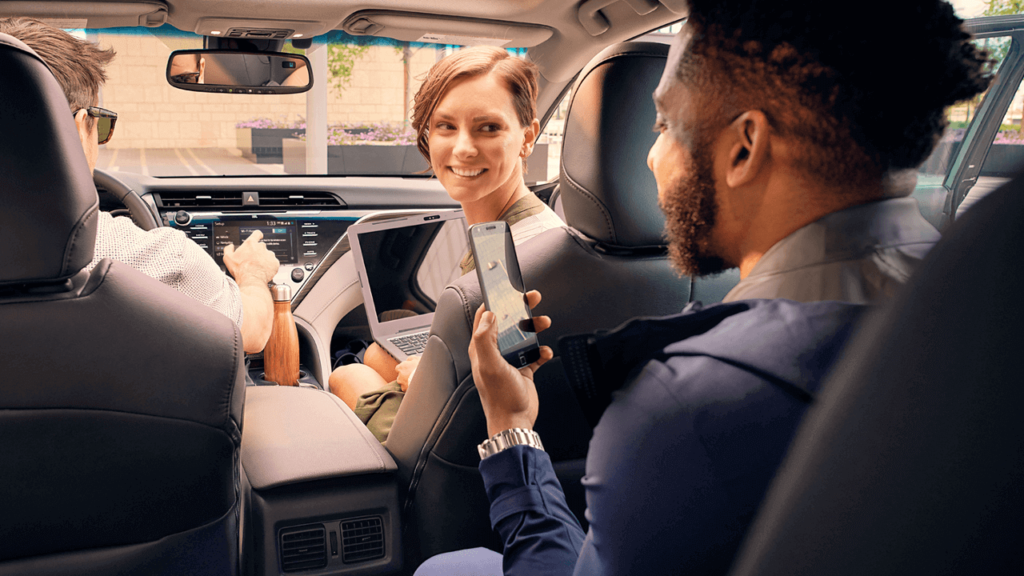 Passengers in 2018 Toyota Camry