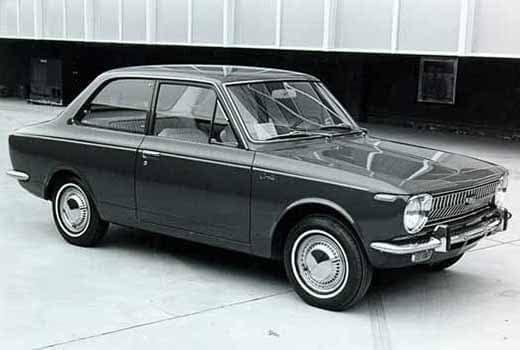 Toyota Corolla 1st Generation 1969