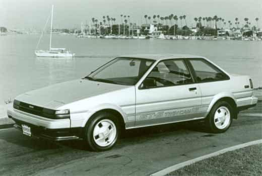 Toyota Corolla 5th Genertion 1985