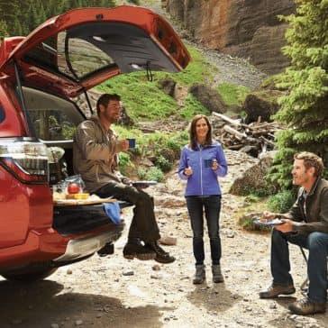 2018 Toyota 4Runner camping