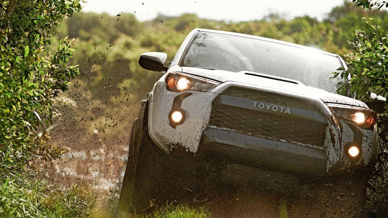 2018 Toyota 4Runner mud