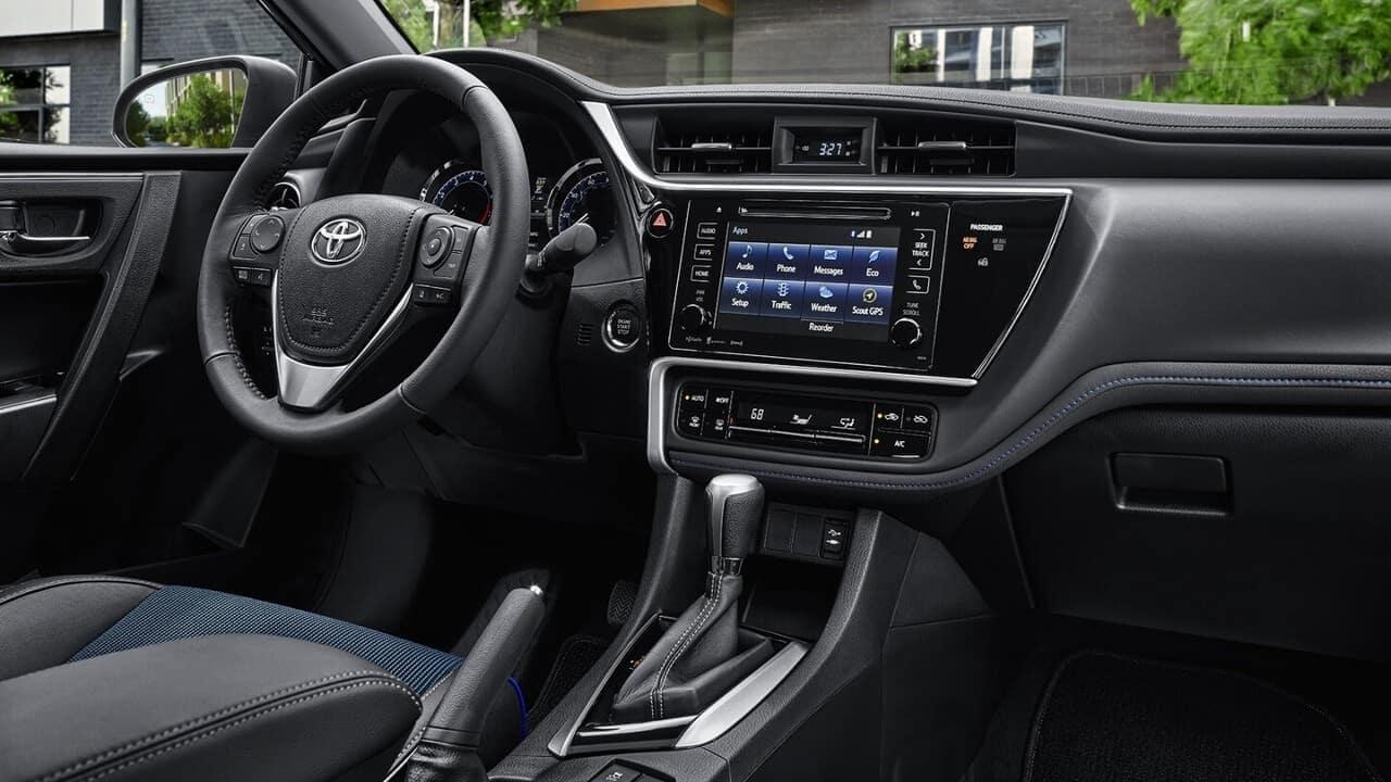 2018 Toyota Corolla Interior Dash