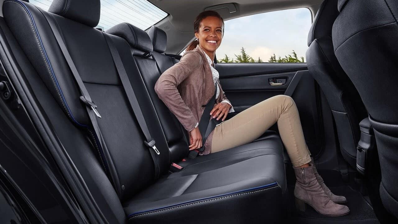 2018 Toyota Corolla Interior Seats