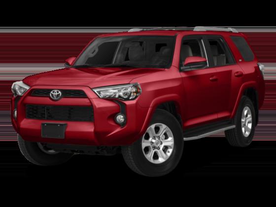 Toyota 4Runner in Red