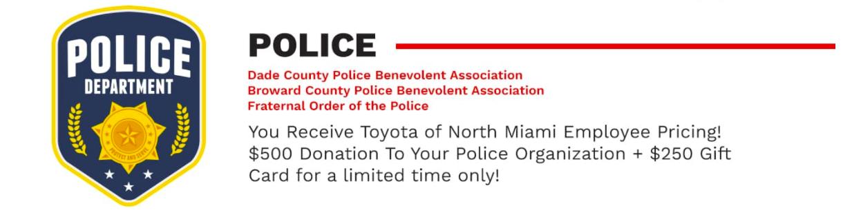 Police VIP Offer