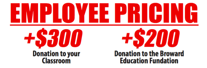 employee pricing broward county public school employees