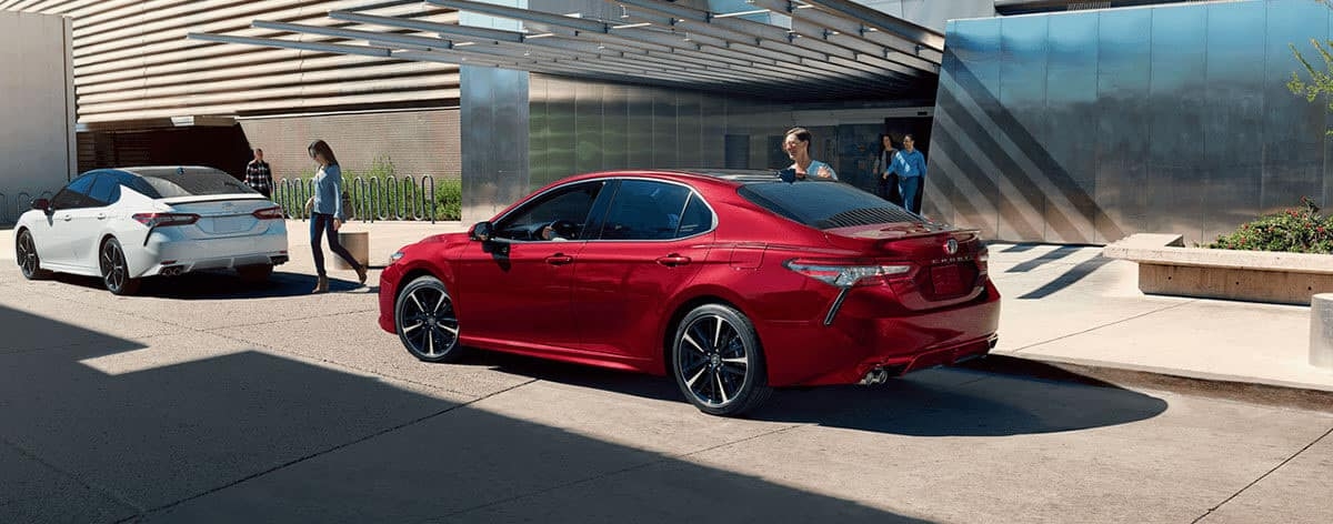 2018 Toyota Camry exterior banner